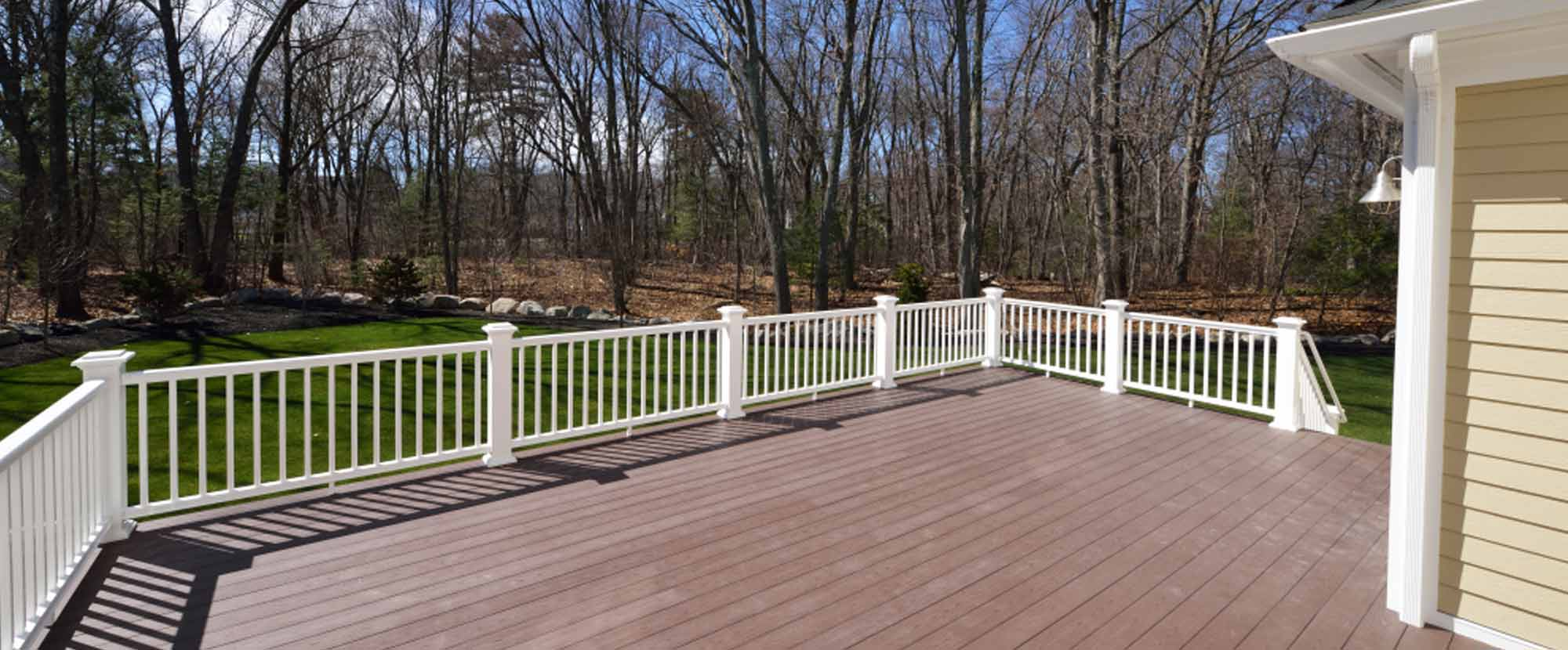 We do decks. Sub-headline: Give us a call to learn more!